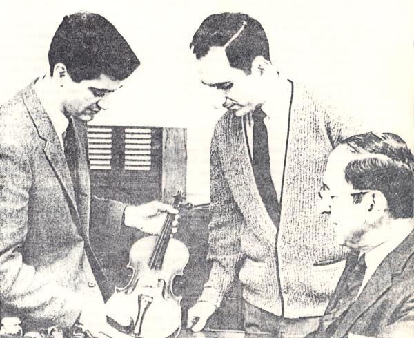 Charles, Michael Jr. and Michael Sr. Avsharian