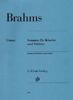 Brahms Sonatas For Violin and Piano