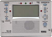 Korg Digital Tuner and Metronome