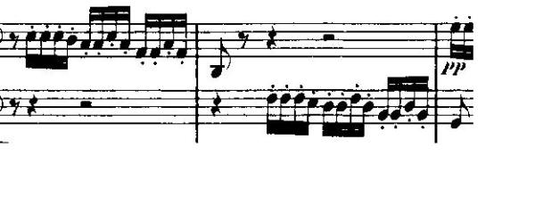 Mendelssohn Octet motive
