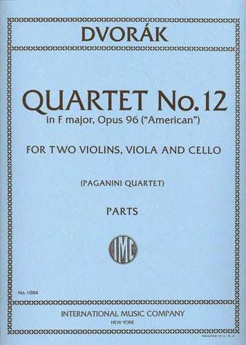 """Dvorak Quartet No. 12 """"American"""""""