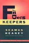 Seamus Heaney Finders Keepers
