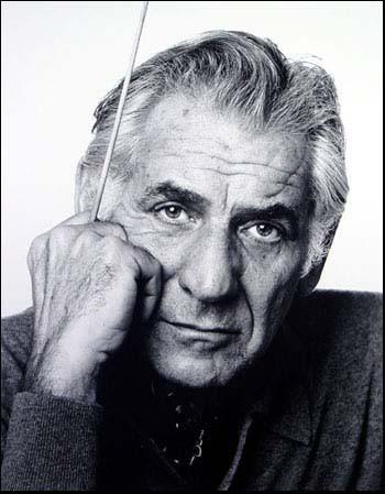 Leonard Bernstein by Jack Mitchell web