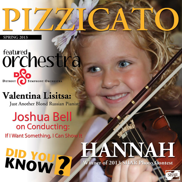 Pizzicato Spring 2013 cover