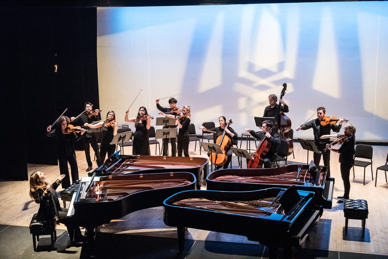 Bach piano concertos at Miller Theater blue light.jpg