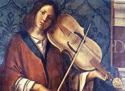 Lira da Braccio by Bartolomeo Montagna