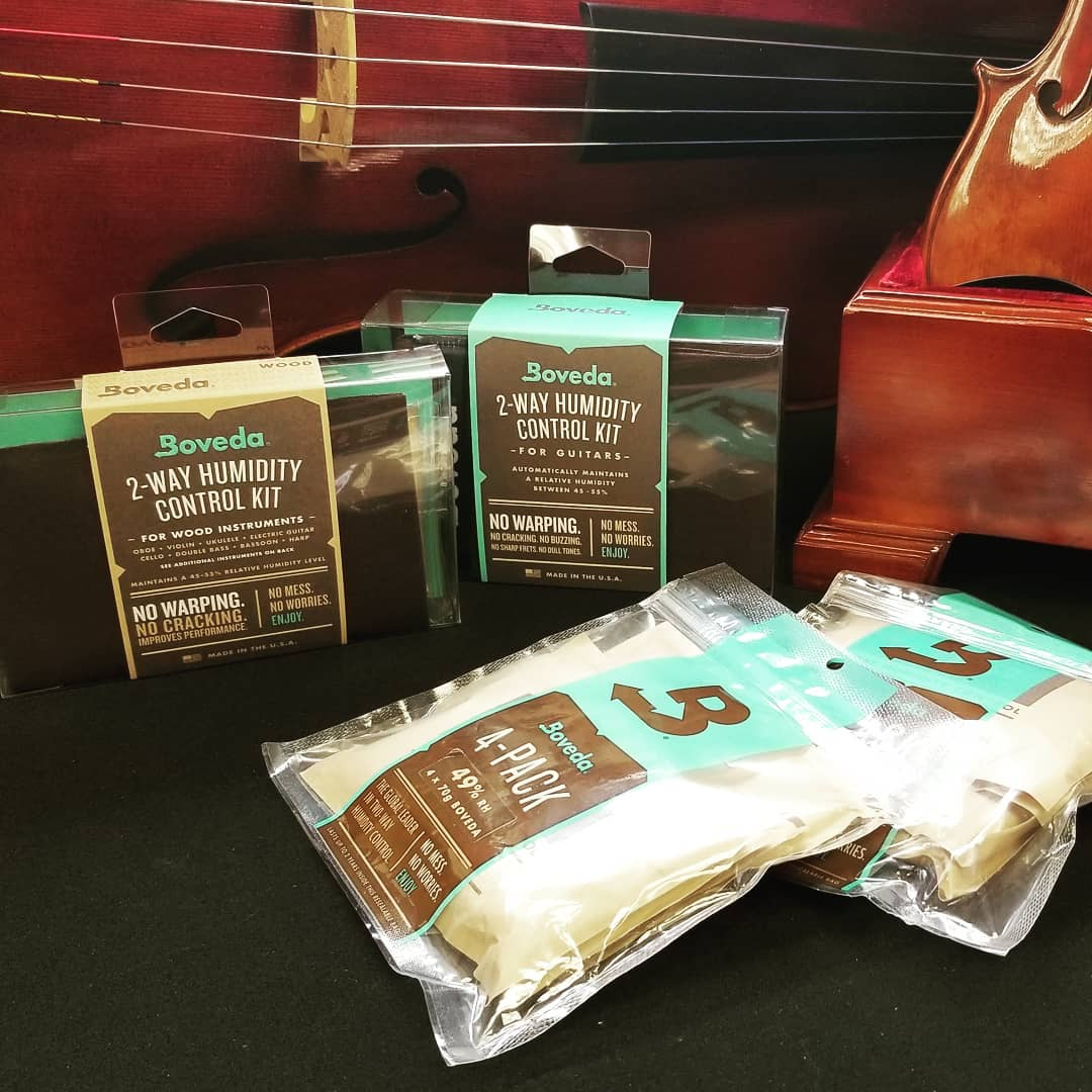 Dry Air = Danger: Prepare Your Stringed Instrument for the Cold Months Ahead