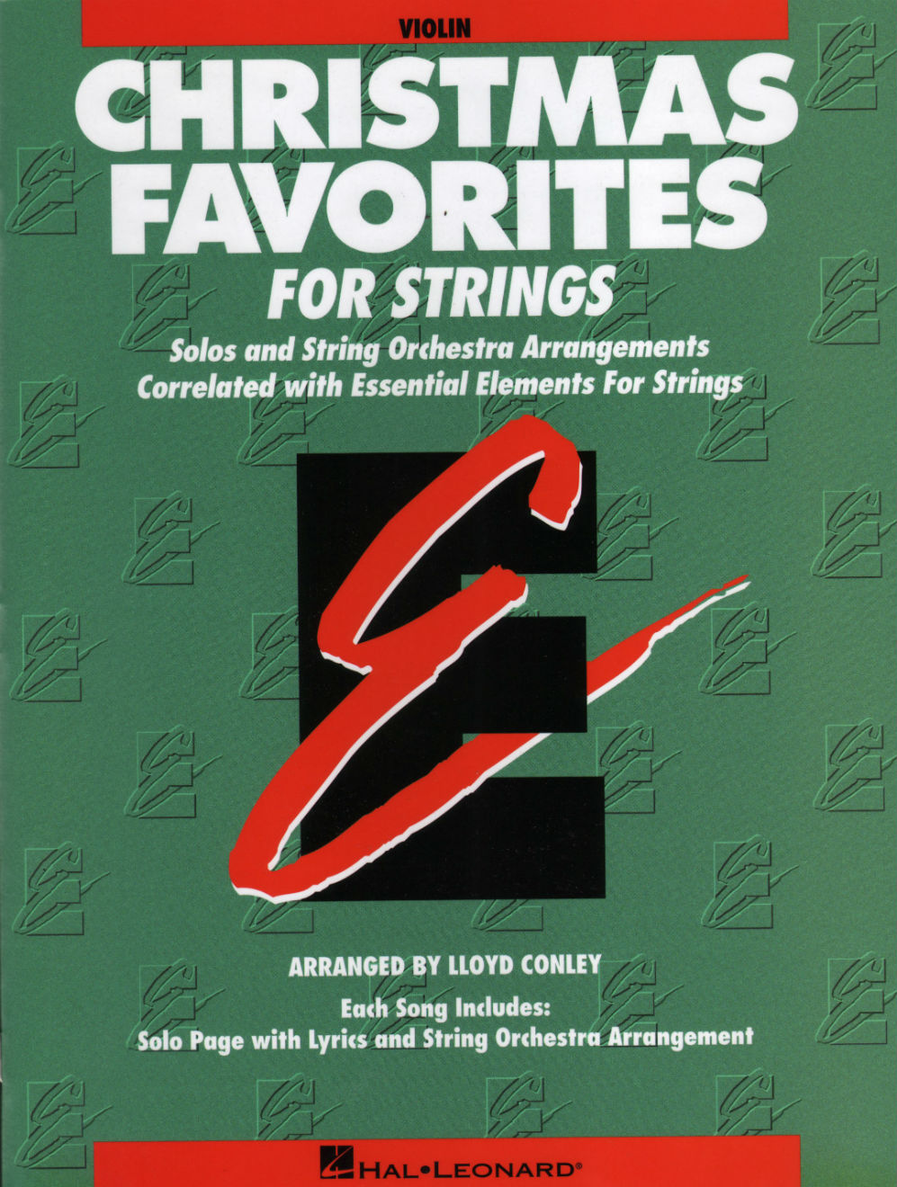 Christmas Sheet music For Strings - Part Three: Solos with Audio Accompaniment