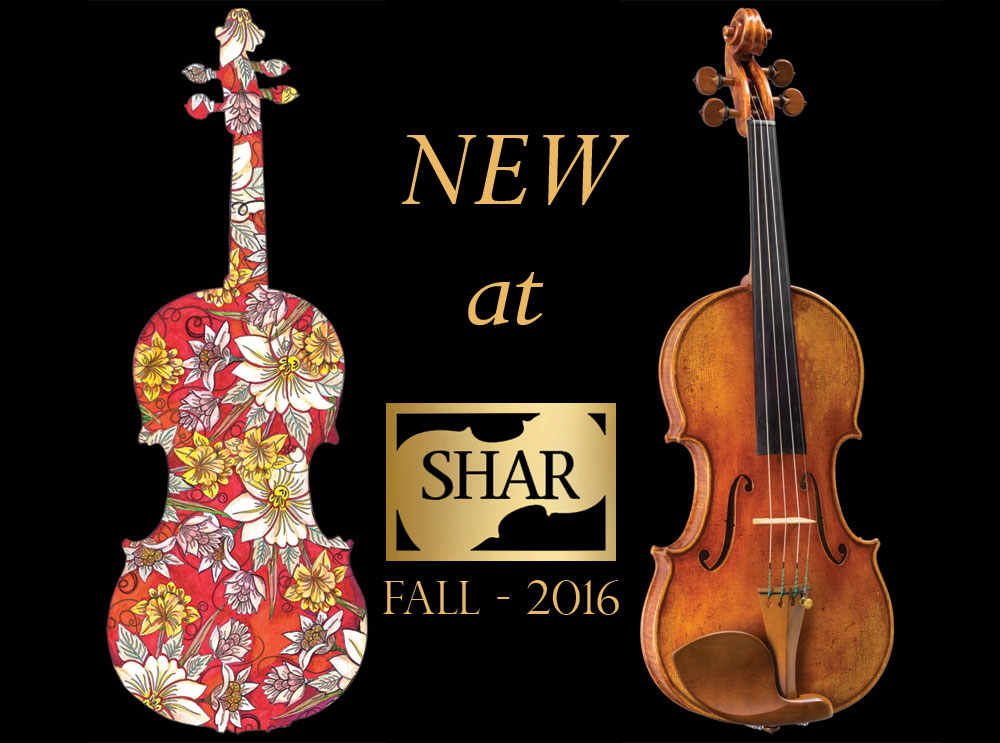New AT SHAR 2016: Violin and Viola Cases, Electrics, and Accessories