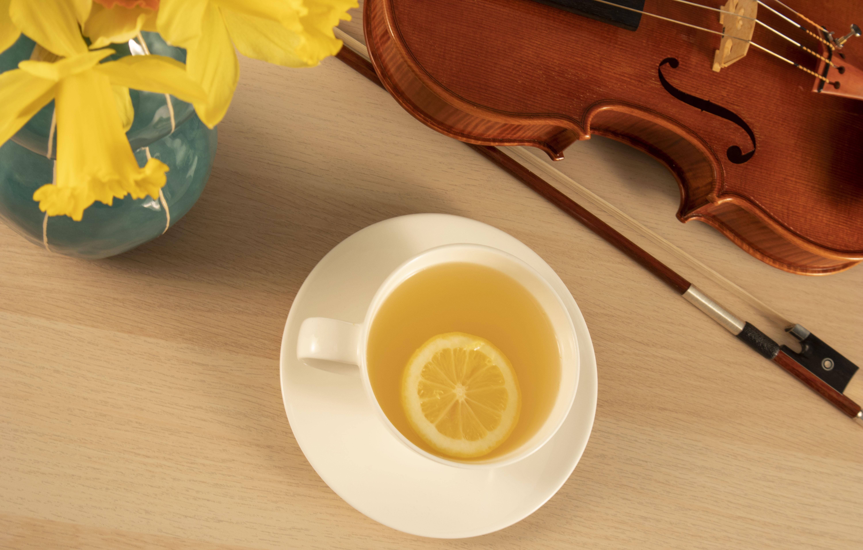 Lemon-Ginger Tea Recipe for Focused Practice