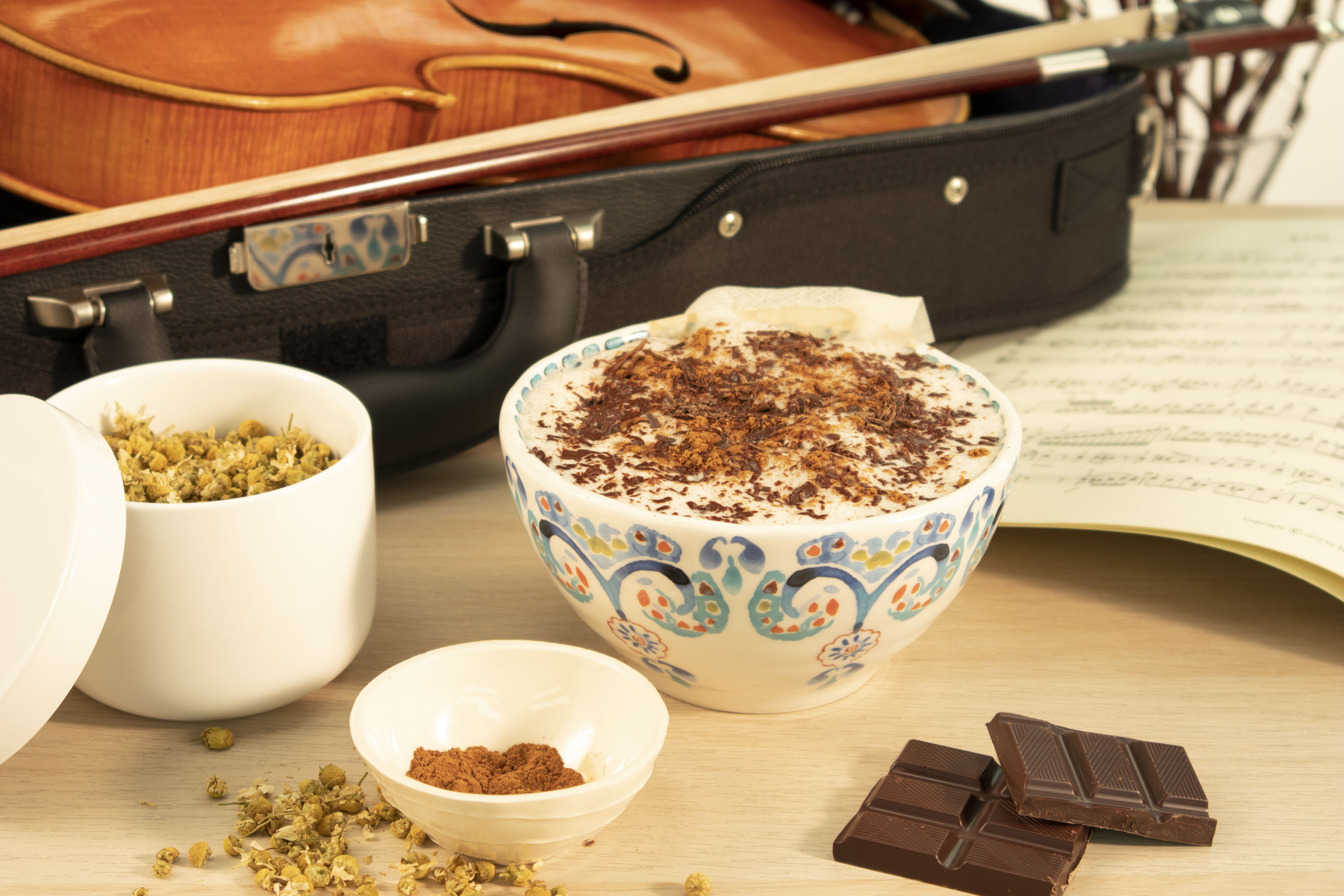 Calming Chamomile Latte Recipe for Pre-Performance Relaxation